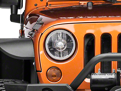 Delta Halogen 7 in. Headlight Kit (07-18 Jeep Wrangler JK)