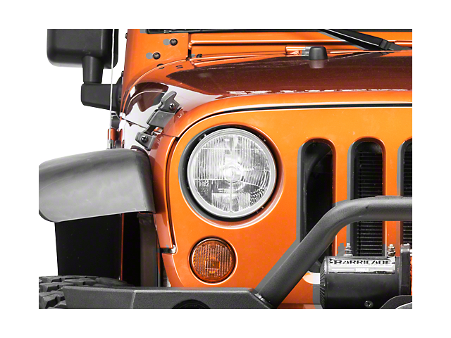 Delta Xenon 7 in. Headlight Kit (07-18 Jeep Wrangler JK)