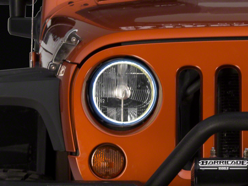 Delta Xenon HALO 7 in. Headlight Kit (07-18 Jeep Wrangler JK)