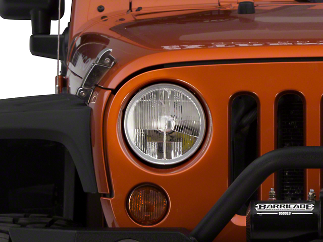 Delta LED 7 in. Headlight Kit (07-18 Jeep Wrangler JK)