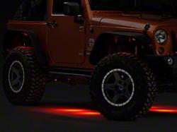 Smittybilt Jeep Wrangler Soft Top Cargo Restraint System