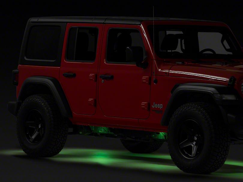Vision X Tantrum LED Rock Light - RGB (87-17 Wrangler YJ, TJ & JK)