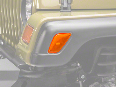 Axial Amber Side Marker Lights - Pair (97-06 Wrangler TJ)