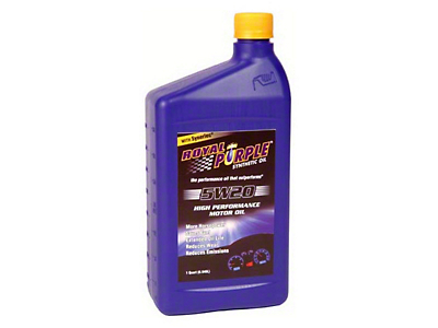 Royal Purple 5w20 Motor Oil (87-18 Wrangler YJ, TJ, JK & JL)