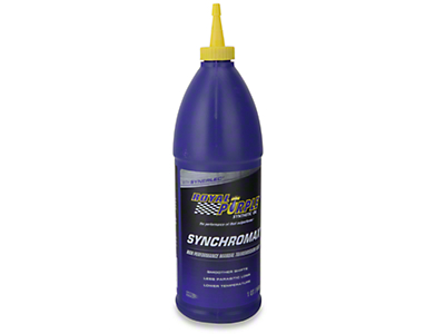 Royal Purple Synchromax Manual Transmission Fluid (87-17 Wrangler YJ, TJ & JK)