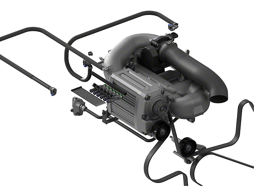 Sprintex 3.8L Non-Intercooled Supercharger System with Tuner (07-11 Wrangler JK)