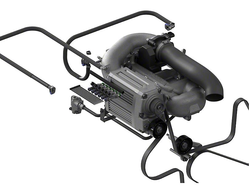 Sprintex Non-Intercooled Supercharger Kit (07-11 3.8L Jeep Wrangler JK)