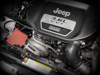 RIPP Supercharger Kit - Intercooled (12-14 Wrangler JK w/ Manual Transmission)