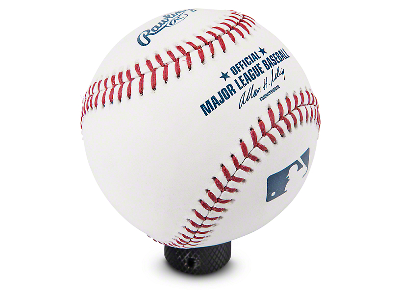 RockNob MLB Rawlings Baseball Shift Knob (87-18 Jeep Wrangler YJ, TJ & JK)