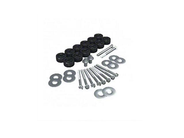 Teraflex 1.25 in. Body Lift (07-18 Jeep Wrangler JK)