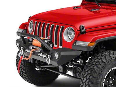 Barricade Trail Force HD Front Bumper w/ LED Lights (2018 Wrangler JL)