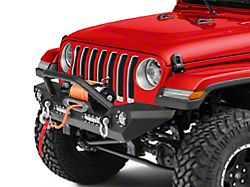 Barricade Trail Force HD Front Bumper w/ LED Lights (18-19 Jeep Wrangler JL)
