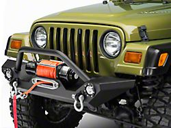 Barricade Trail Force HD Front Bumper with LED Lights (87-06 Jeep Wrangler YJ & TJ)