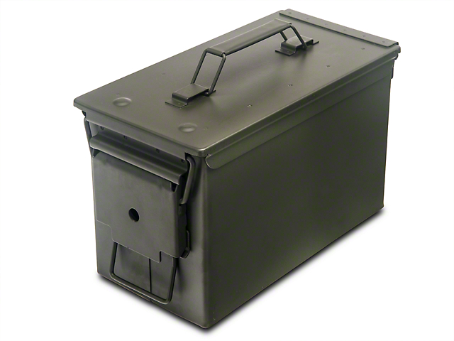 50 Caliber Ammo Can (87-20 Jeep Wrangler YJ, TJ, JK & JL)