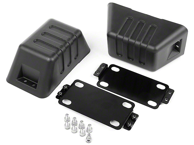 Rugged Ridge XHD Bumper Tow Point Covers (07-18 Jeep Wrangler JK)