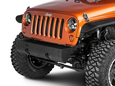 Rugged Ridge XHD Modular Front Bumper Base (07-18 Jeep Wrangler JK)