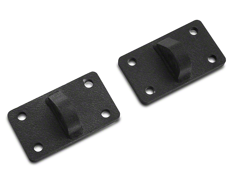 Rugged Ridge XHD D-Shackle Brackets (07-18 Jeep Wrangler JK)