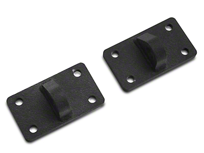 Rugged Ridge XHD D-Shackle Brackets (07-18 Wrangler JK; 2018 Wrangler JL)