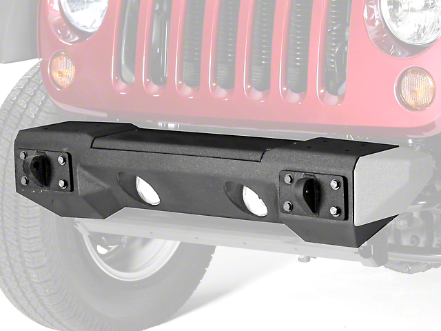 Rugged Ridge All-Terrain Front Bumper with Winch Plate (07-18 Jeep Wrangler JK)