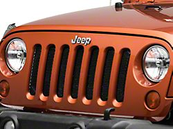 Rugged Ridge Perforated Grille Insert - Black (07-18 Jeep Wrangler JK)