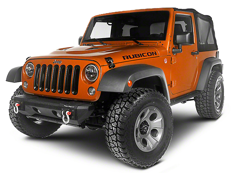 Rugged Ridge Canyon Exterior Restyling Package (07-12 Jeep Wrangler JK)