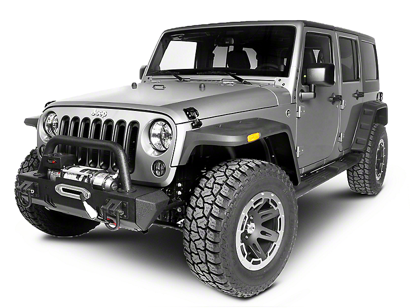 Rugged Ridge Rocky Exterior Restyling Package (07-12 Jeep Wrangler JK)