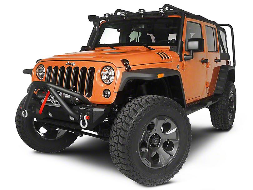 Rugged Ridge Exploration Exterior Restyling Package (07-12 Jeep Wrangler JK 4 Door)