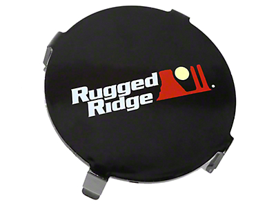 Rugged Ridge 3.5 in. LED Light Cover - Black