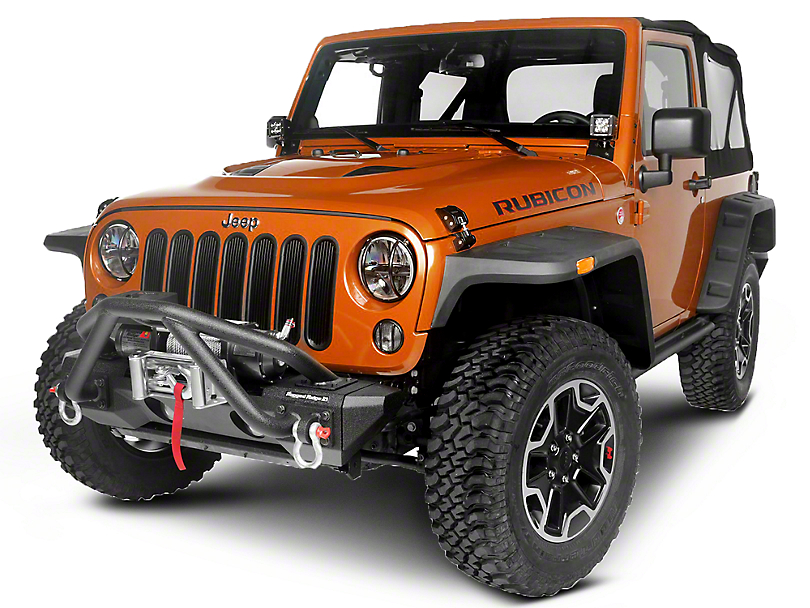 Rugged Ridge Boulder Exterior Restyling Package (07-18 Jeep Wrangler JK)