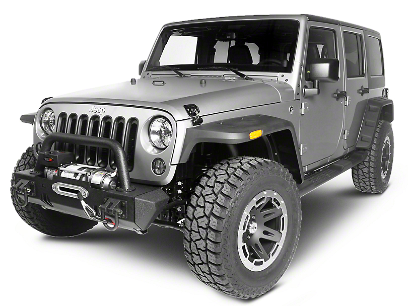 Rugged Ridge Rocky Exterior Restyling Package (13-18 Jeep Wrangler JK)