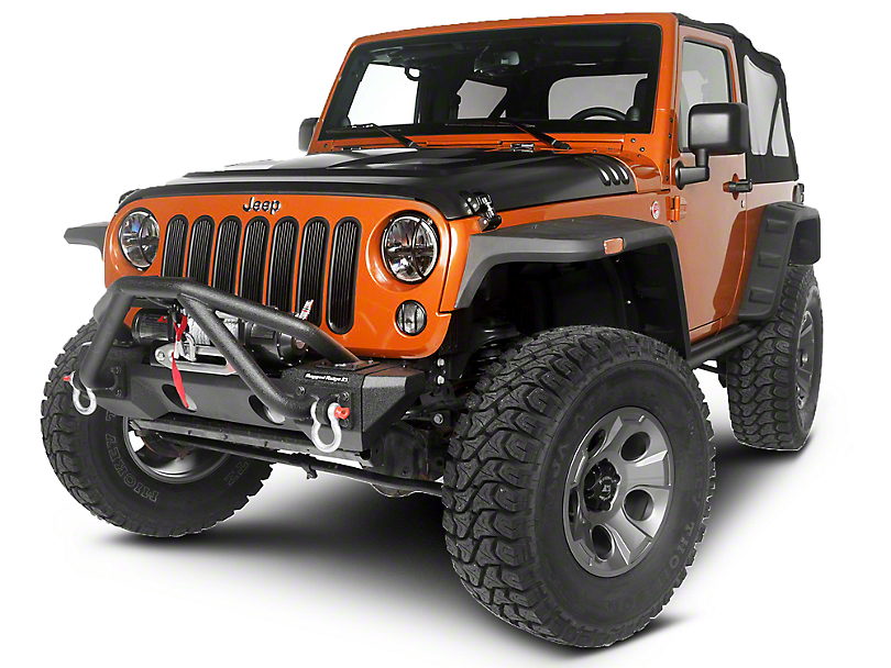 Rugged Ridge Teton Exterior Restyling Package (13-18 Jeep Wrangler JK)