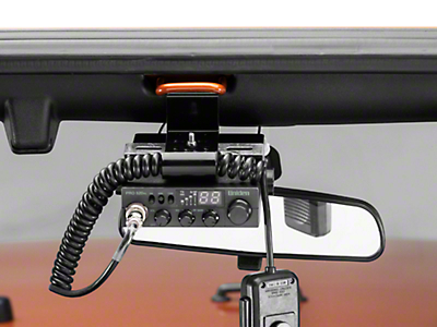Rugged Ridge CB Radio & Antenna Mount Kit (07-18 Jeep Wrangler JK)