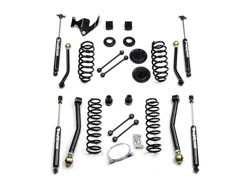 Teraflex 3 in. Suspension Lift Kit w/ FlexArms & Shocks (07-18 Jeep Wrangler JK 4 Door)