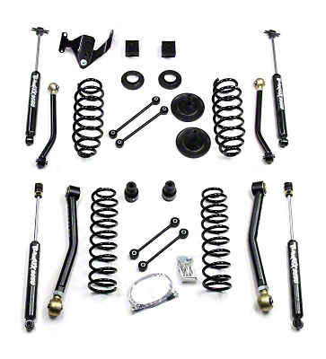 Teraflex 3 in. Suspension Lift Kit w/ FlexArms & Shocks (07-17 Wrangler JK 4 Door)