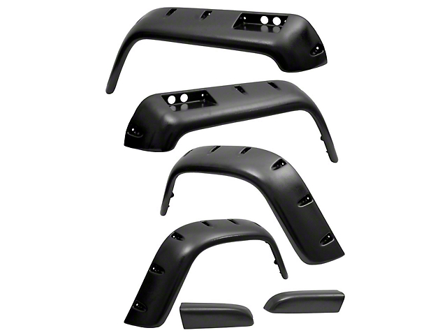 Rugged Ridge 4.75 in. All Terrain Fender Flares (87-95 Jeep Wrangler YJ)