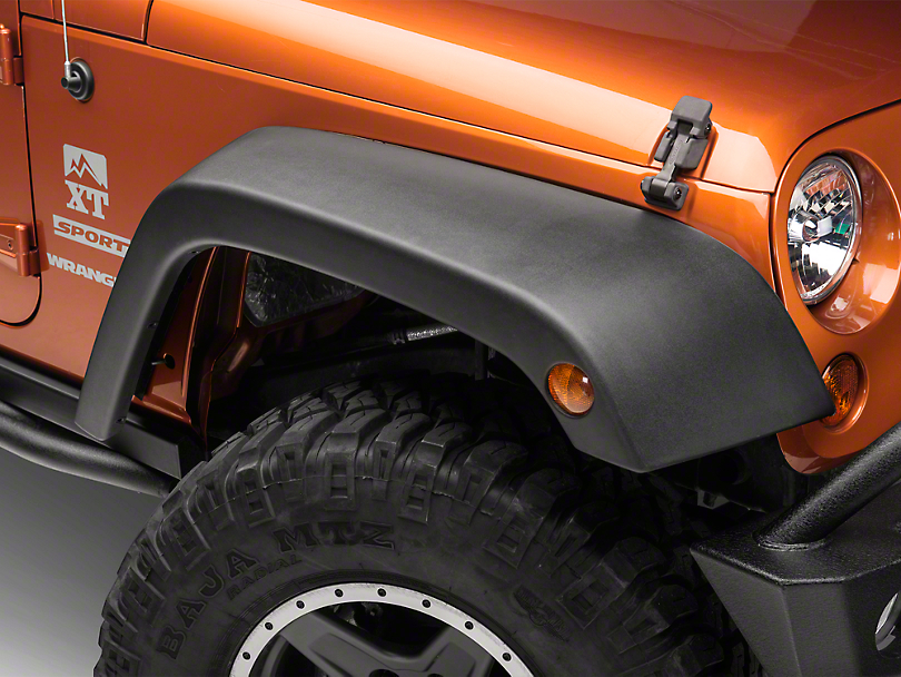 Omix-ADA 4-Piece OE Style Replacement Fender Flares (07-18 Jeep Wrangler JK)