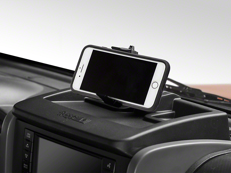 Rugged Ridge Dash Multi-Mount Storage System & Phone Kit (07-10 Jeep Wrangler JK)