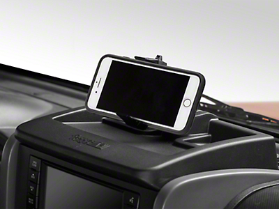 Rugged Ridge Dash Multi-Mount Storage System & Phone Kit (07-10 Wrangler JK)