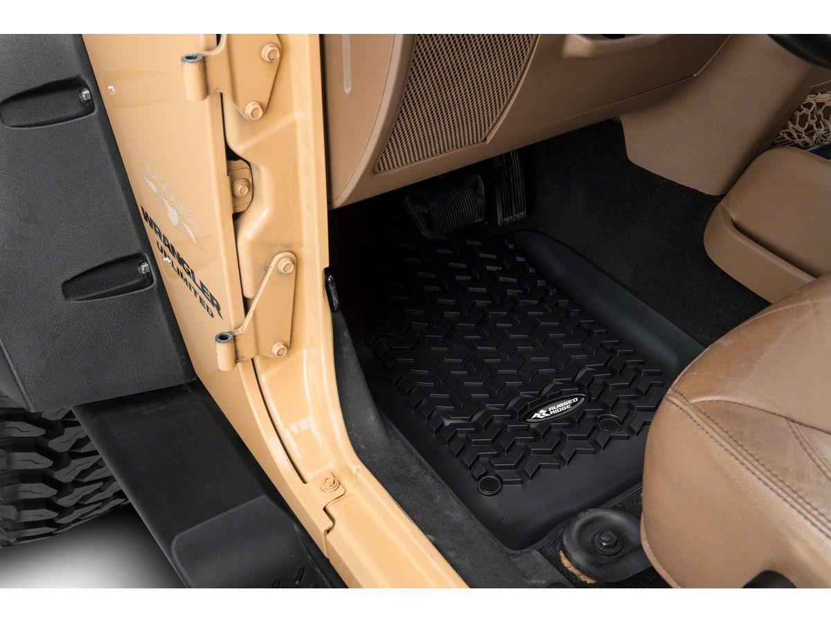 Rugged Ridge Jeep Wrangler All Terrain Front Rear Cargo Floor
