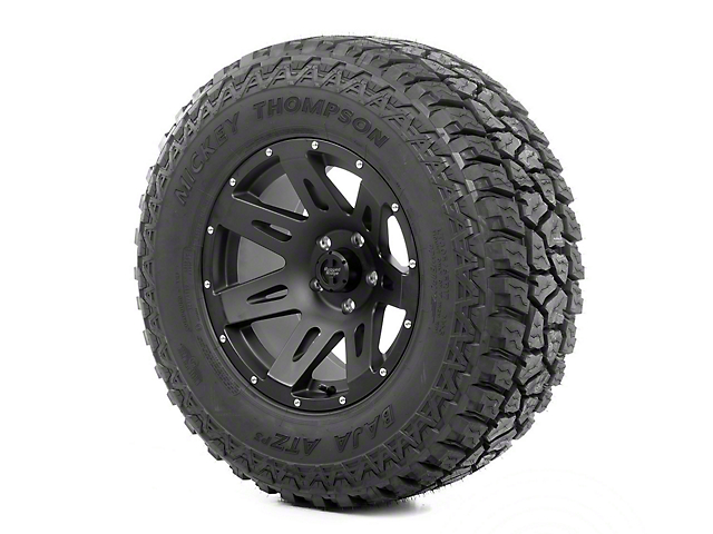 Rugged Ridge XHD Wheel 17x9 Black Satin and Mickey Thompson ATZ P3 305/65R17 Tire (07-12 Jeep Wrangler JK)