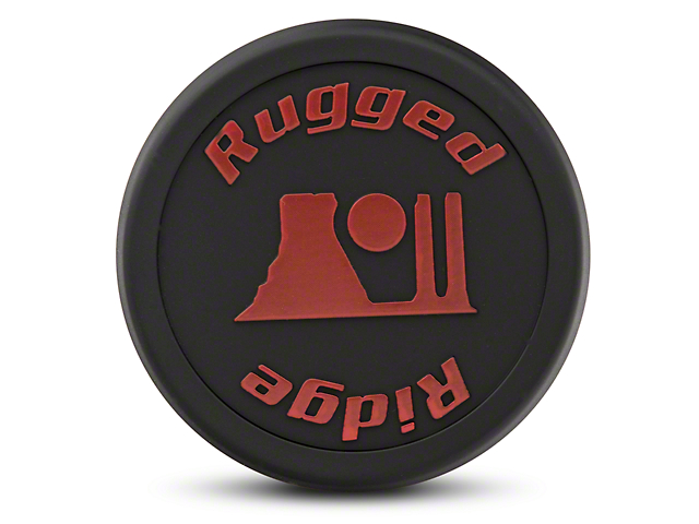 Rugged Ridge 17x9 Jesse Spade Wheel Center Cap; Black (07-20 Jeep Wrangler JK & JL)