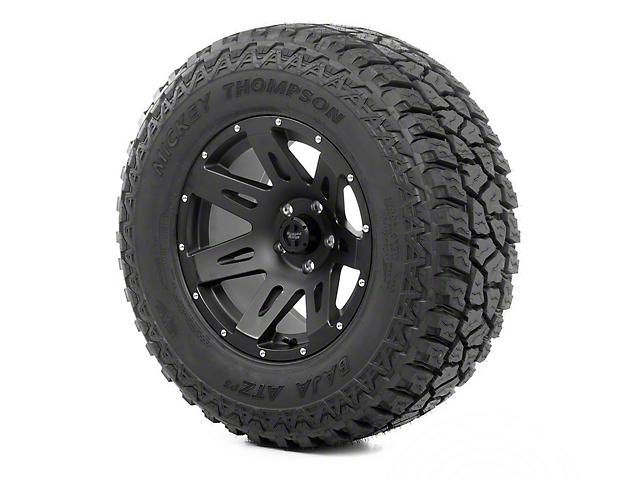 Rugged Ridge XHD Wheel 17x9 Black Satin and Mickey Thompson ATZ P3 305/65R17 Tire (07-18 Jeep Wrangler JK)