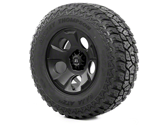 Rugged Ridge Drakon Black Satin 17x9 Wheel & Mickey Thompson ATZ P3 315/70R17 Tire Kit (07-18 Jeep Wrangler JK)