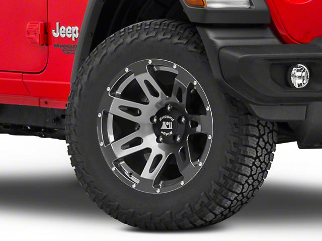 Rugged Ridge XHD Gun Metal Gray Wheel; 18x9 (18-20 Jeep Wrangler JL)