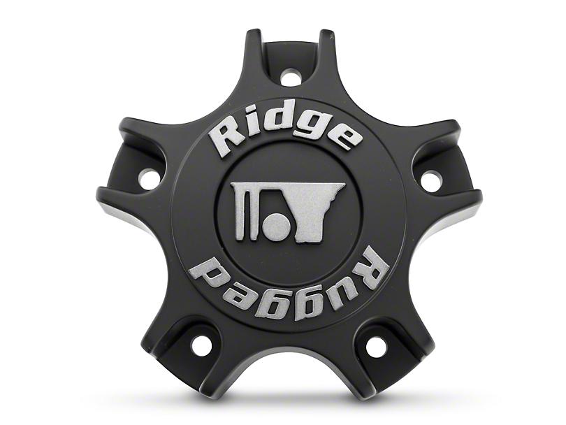 Rugged Ridge Drakon Wheel Center Cap - Black (07-19 Jeep Wrangler JK & JL)
