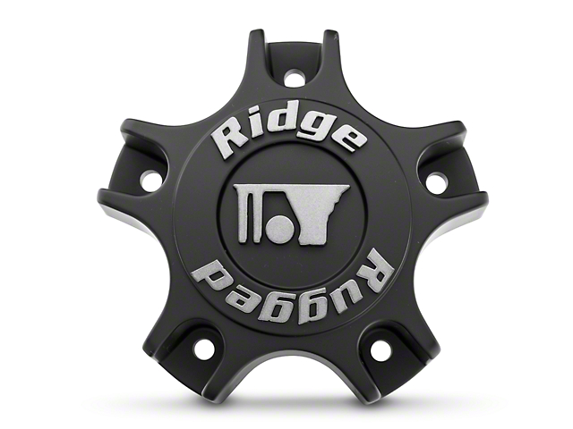 Rugged Ridge Drakon Wheel Center Cap; Black (07-20 Jeep Wrangler JK & JL)