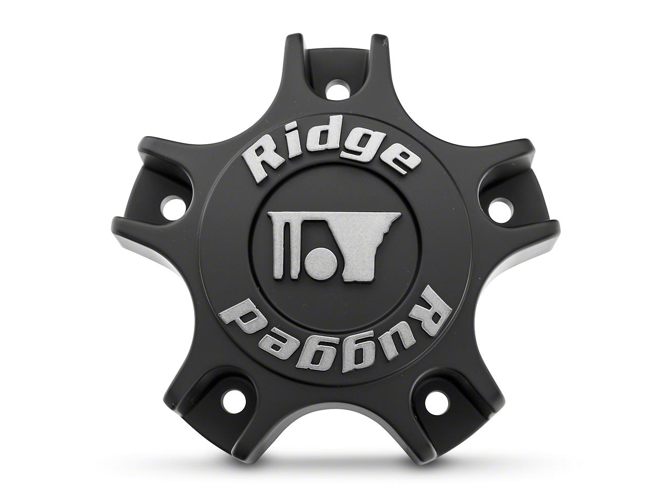 Rugged Ridge Drakon Wheel Center Cap - Black (07-18 Wrangler JK)