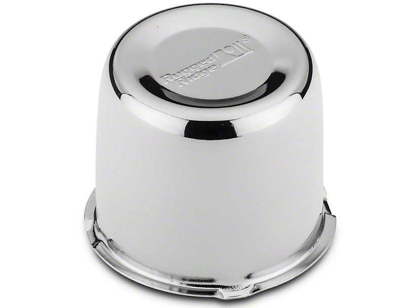 Rugged Ridge 5x5 Steel Wheel Center Cap - Chrome (07-20 Jeep Wrangler JK & JL)