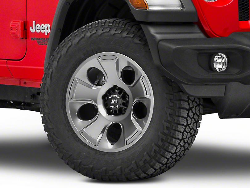 Rugged Ridge Drakon Gunmetal Gray Wheel - 18x9 (18-19 Jeep Wrangler JL)