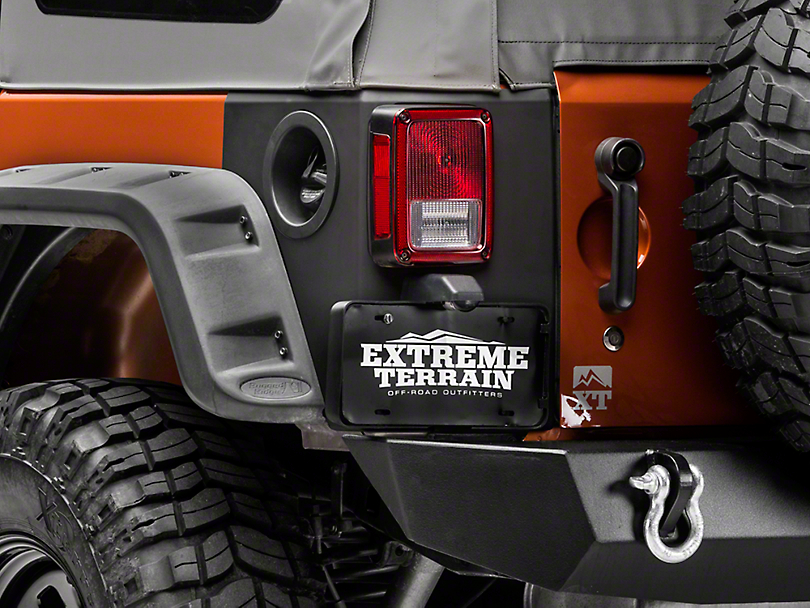 Jeep Wrangler Body Armor >> Rugged Ridge Jeep Wrangler Rear Corner Body Armor Matte Black